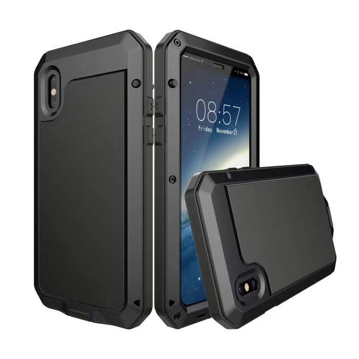 Чехол Grand Lunatik противоударный для iPhone X Black (AL1309)