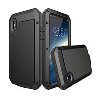 Чехол Grand Lunatik противоударный для iPhone X Black (AL1309), фото 1