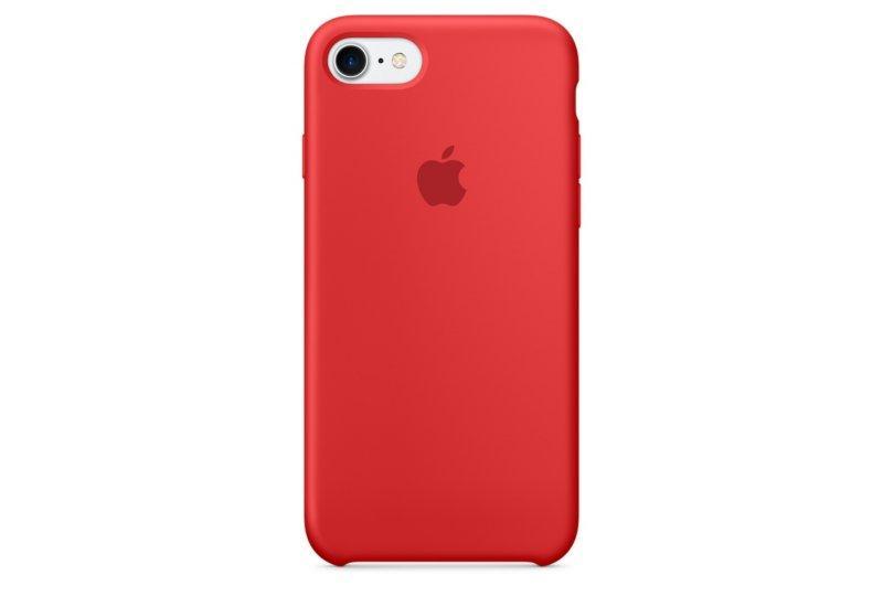 Силиконовый чехол Grand для iPhone 7/8 Red (AL1459_8)