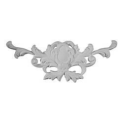 Гипсовая лепнина декоративный угол у-1 L-340 мм