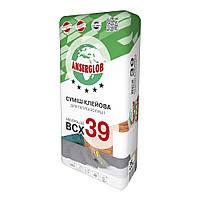 Клей для пенополистирола Anserglob BCХ 39, 25 кг