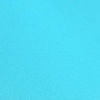 Фетр корейский жесткий 1.2 мм, 22x30 см, ЯРКО-ГОЛУБОЙ 926