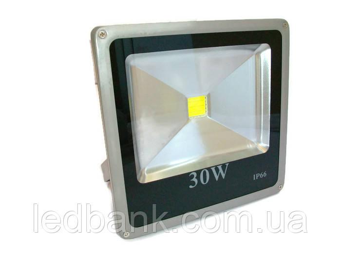 Светодиодный прожектор 30 Вт Slim LED