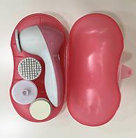 Масажер для обличчя Facial cleaning set Ae-8782c, 4 в 1