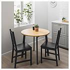 IKEA GAMLARED Стол, яркая патина пятно, черная Морилка  (303.712.40), фото 2