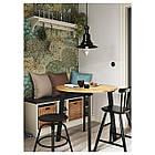 IKEA GAMLARED Стол, яркая патина пятно, черная Морилка  (303.712.40), фото 5