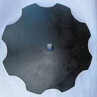 Диск бороны БДВП Краснянка ф710х8мм квадрат 41мм ромашка Z8, Z10 /гладкая кромка ст30Mnb5, фото 4