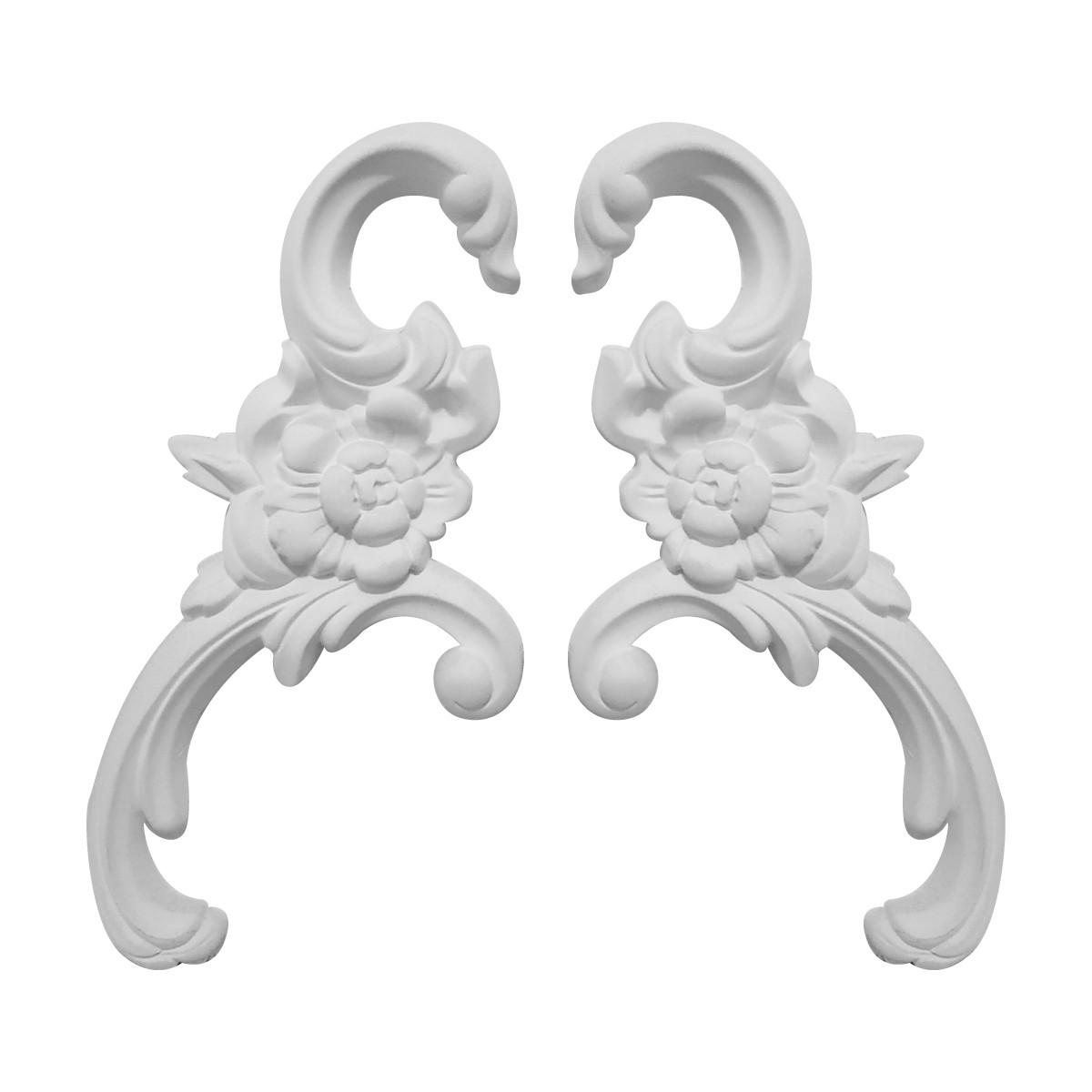 Гипсовая лепнина декоративный угол у-12 h190мм