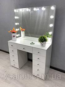 Стол с зеркалом для макияжа с подсветкой V455