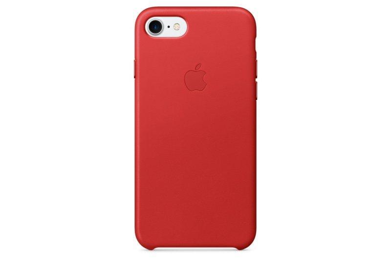 Кожаный чехол Grand для iPhone 7/8 Red (AL1440_8)