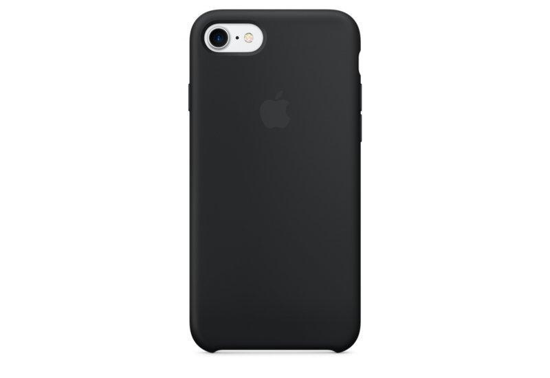 Силиконовый чехол Grand для iPhone 7/8 Black (AL1454_8)