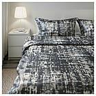 IKEA SKOGSLONN Комплект постельного белья, черный, разноцветный  (103.375.20), фото 6