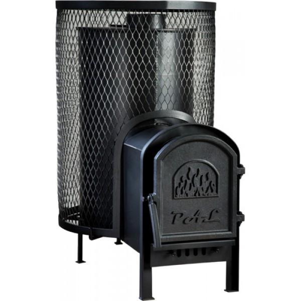 Дровяная печь для бани Pal PR-25 L с выносом
