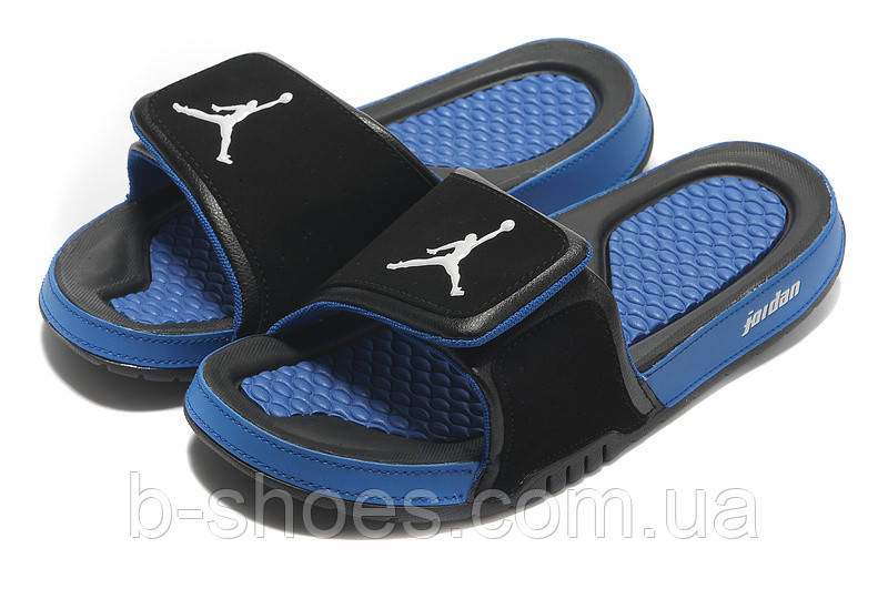 Шлепанцы Air Jordan Hydro 2 Black/Blue