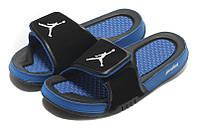 Шлепанцы Air Jordan Hydro 2 Black/Blue, фото 1