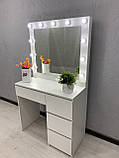 Стол для нанесения макияжа с LED лампами V456, фото 3