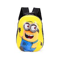 Детский рюкзак жесткий с рисунком Миньйоны, фото 1