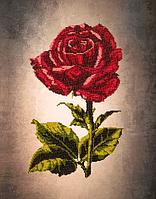 Картины для вышивки бисером на холсте с рисунком FLF-009 Роза 30*40 Волшебная страна качественный