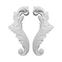 Гипсовая лепнина декоративный угол у-16 h225мм