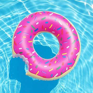 """Надувной круг """"Пончик"""", 70 см."""