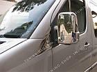 Накладки на зеркала заднего вида Mercedes Sprinter 2006-2018, фото 2