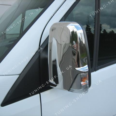 Накладки на зеркала заднего вида Mercedes Sprinter 2006-2018