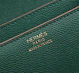 Сумка, клатч женская Эрмес Constanse 19, 22 см натуральная кожа, фото 9