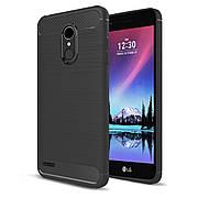 Чехол силиконовый TPU на LG K10 2017 черный