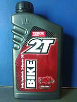 Масло для 2-тактных двигателей Teboil 2T Bike (1л)