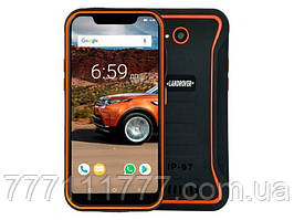 "Защищенный смартфон Land Rover X3 orange IP68 (2SIM) 5.5"" 2/16ГБ 2/8Мп оригинал Гарантия!"