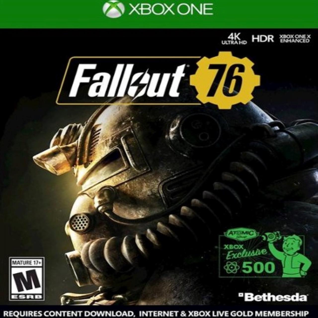 Fallout 76 SUB Xbox One  КОД