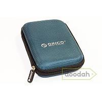 Чехол для внешнего жесткого HDD / SSD диска размером 2.5 - HDD Case, Цвет чехла orico синий