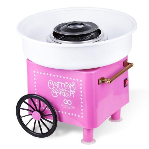 Аппарат машина для приготовления сладкой ваты VOLRO Cotton Candy Pink (vol-129)