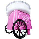 Аппарат машина для приготовления сладкой ваты VOLRO Cotton Candy Pink (vol-129), фото 5