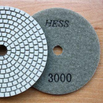 Алмазные гибкие полировальные круги («липучки», «черепашки») №3000