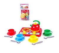 """Кухня """"Галинка 3"""" ТехноК плита, посуд,чайник"""