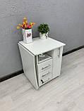 Стол маникюрный складной с тумбой и ящиком карго V457, фото 5