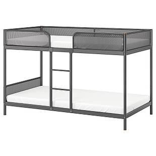IKEA TUFFING Каркас кровати, темно-серый  (002.392.33)