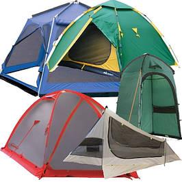 Палатки, тенты, шатры, навесы