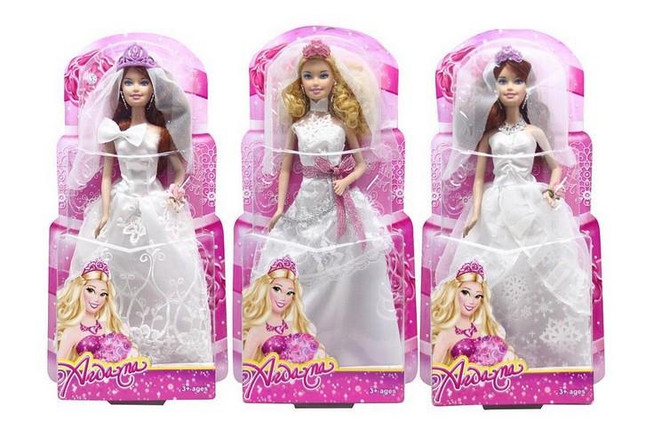 Кукла типа Барби 2102 Невеста короб.