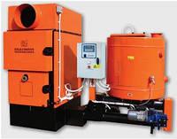 Генератор теплого воздуха на щепе GSA 40 kW