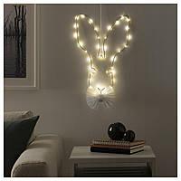 IKEA STRALA Настенный светильник/гирлянда, на батарейках  (604.089.25)