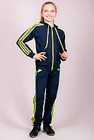 Детский спортивный костюм синего цвета, фото 1