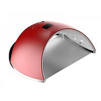 Лампа ультрафиолетовая для наращивания ногтей и маникюра SUN-6S 48W  красный