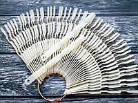 Типсы на кольце матовые 150шт