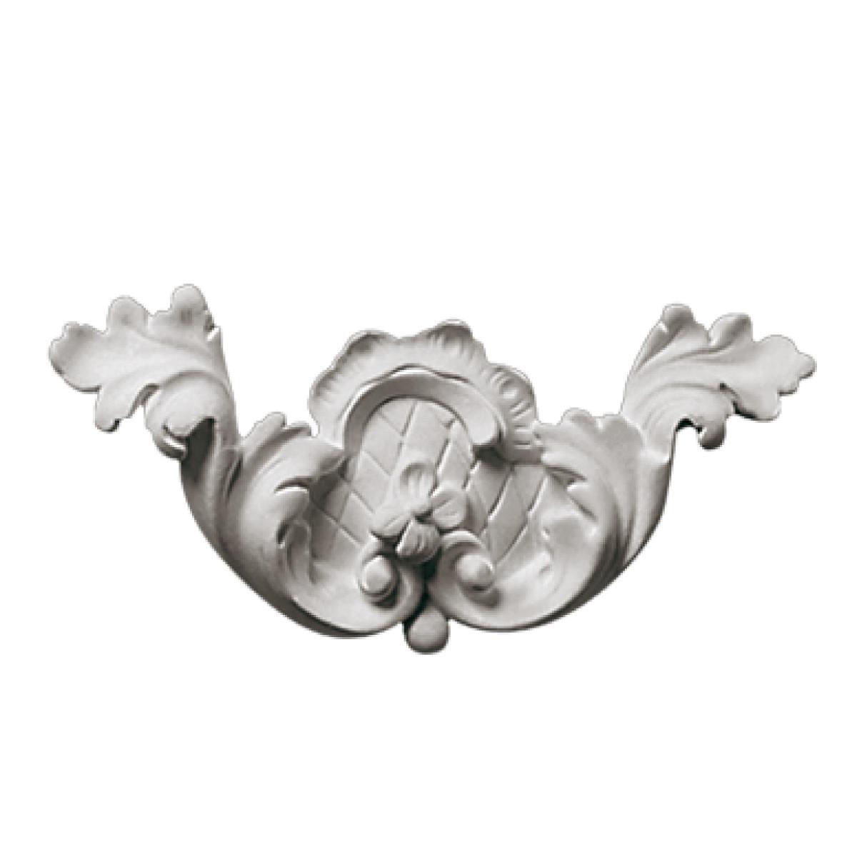 Гипсовая лепнина декоративный угол у-10 L-200мм