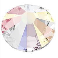 Камни Сваровски для ногтевого дизайна 2058 Crystal AB ss 8 ( 2.10-2.20 mm) -100 шт/уп