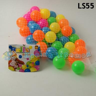 Мячики для сухого басейна 5,5см, 50шт