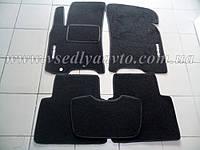 Ворсовые коврики в салон CHEVROLET Lacetti (Черный)