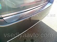 Накладка на бампер Chevrolet Epica с 2006-  (NataNiko)